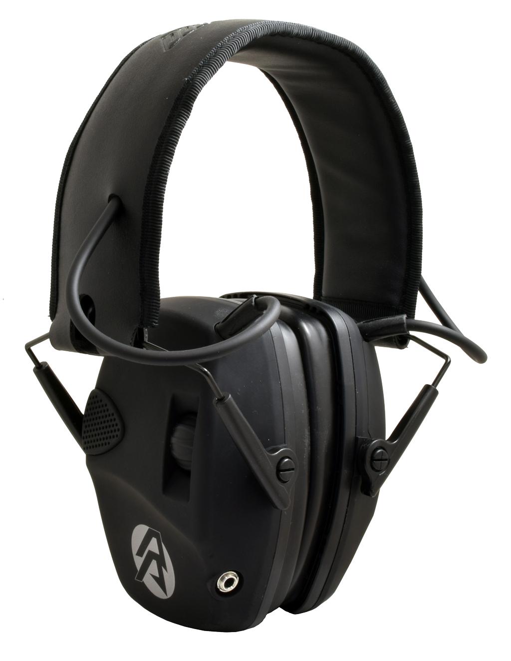 DAA Electronic Hearing Protection EHP27 - Ear muffs - Shooter equipment - 3gun.pl store - steel